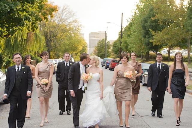 nashville real wedding rumours east nashville, vintage classic style