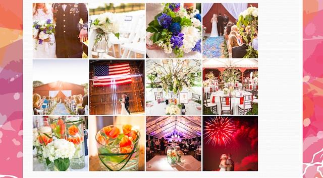 new website for wedding floral designer nashville enchanted florist flower pictures