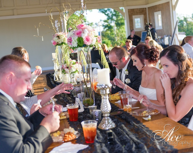 southern wedding food nashville front porch farms, ace photography