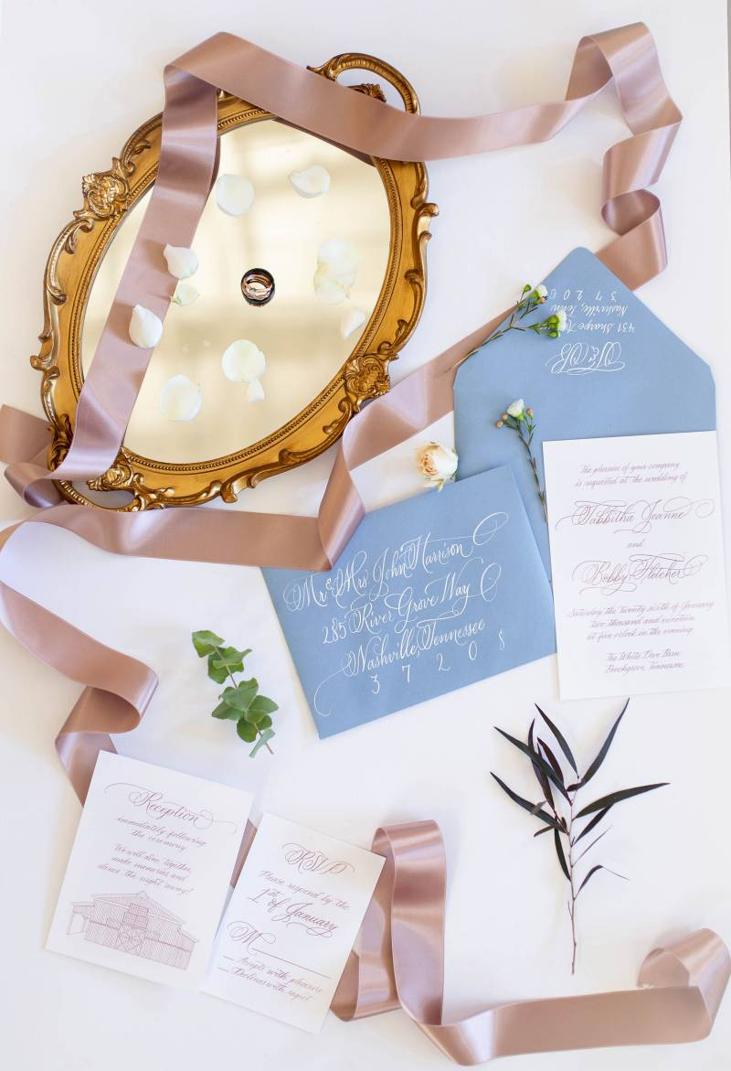 Winter Styled Shoot by Joanna Joy Photography featured on Nashville Bride Guide