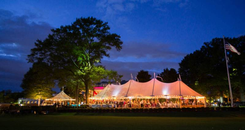 What is a Sailcloth Tent? Find out on Nashville Bride Guide!