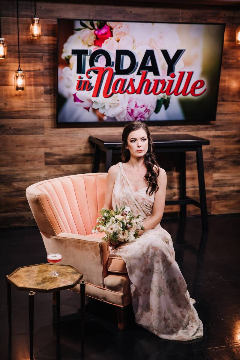 Living Coral Wedding Inspiration on Today in Nashville from Nashville Bride Guide