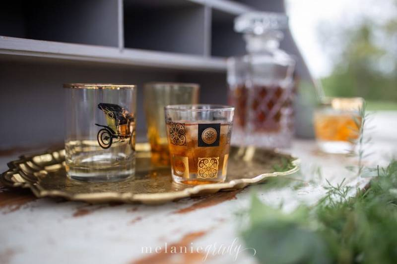 Check out The Wedding Plate's New Barware Collection featured on Nashville Bride Guide